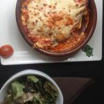 Lasagne-Salade