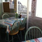 Cafe - there is a sea view!