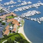 Aerial View of Resort & Marina