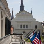 St Louis Cathedral Balcony View