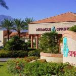Entrance to Miracle Springs Resort