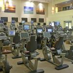 Athletic Club Cardio Room