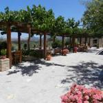 veranda/dining area