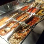 Plenty of curries to choose from (6 meat + 3 veggie)! Xx