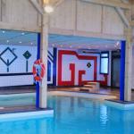Nouvelle piscine couverte Airotel Pyrénées
