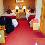 One of the rooms at crown Lochmaben