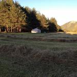 vue sur le jardin du bois faé