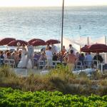 Even had a wedding on the beach at the end of the day