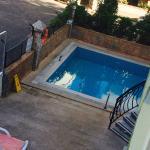 Ali baba swimming pool .. Sun setting .. X