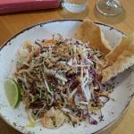 Vietnamese coleslaw, prawns, peanuts, coriander & nouc mam