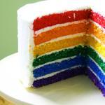 Rainbow Cake at ZUKA