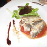Entrée toast aux sardines