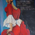 La donna in rosso