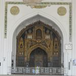 The gilded mihrab