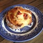 French Brie & Sun-blushed Tomato Scone.