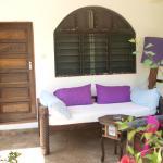 la veranda della camera 1