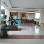 The luxurious reception area for golf, hotel or conference guests