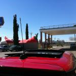 VIEW OF YOUR CAR & THAT OVER SIZE PHALLIC RED CHILI