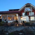 Terrasse mit Blick zum Restaurant