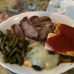 Greek combination plate.