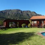 Häuser und Blick auf den Tafelberg