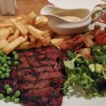 Traditional grub... a real plateful!