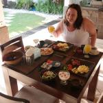 Breakfast is served, Villa Dadap