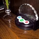 """""""Buzzer"""" to call your waiter"""