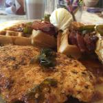 chicken and waffles special