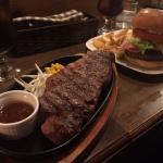Steak and Hamburger