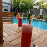 Menikmati Makan siang di Grand Royal Bil Hotel Lombok