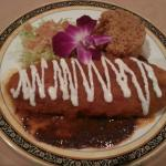 Chile relleno was good but not really spicy