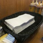 plenty of napkins