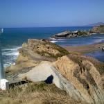 Castlepoint lighthouse and the famous rock