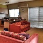 Cottage 1 living room & kitchen