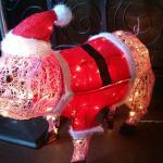 Big Mikes BBQ, Christmas Pig :)