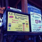 Le Chrismaran, cheap and cheerful.