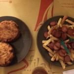 Frittatina di Bucatini & Patatine fresche fritte