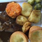 Fantastic roast beef dinner !!