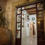 Cretan Villa hall entrance