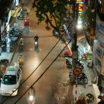 Gia Thinh Hotel Hanoi: View from our 2nd floor room