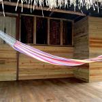 porch for cabanas with hammocks