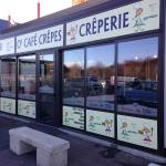 """le grain de blé est devenu """" o'café crepes"""" depuis peu : creperie, sandwicherie"""