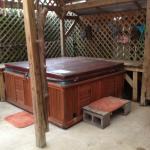 Hot tub - can be used  heated or without heat