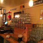 Very nice bar at Mother Road Brewing