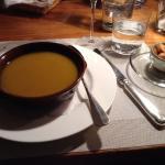 Zu Zu Lé (vellutata di zucca peperoncino e lenticchie)