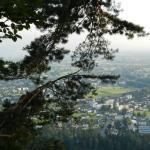 Vista do hotel Schönblick