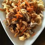 KJ's Calamari with Asian Sauce and Cashews