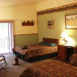 Spaciuos rooms with western decor