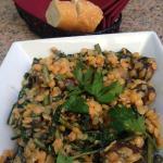 Dandelion Greens and Lentils